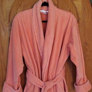 Victoria's Secret M/L Coral-Pink Cosy Robe